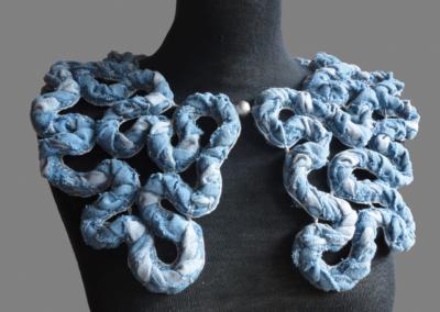 Kragen Jeans (Blau)
