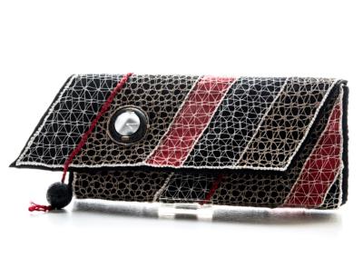 Taschenuhr (Schwarz/Rot)